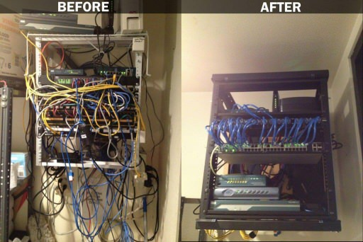 Before/After Rack