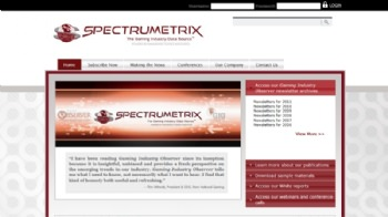 New Client Spotlight: SPECTRUMETRIX from Spectrum Gaming Group