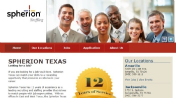 Blog Post: New Client Spotlight: Spherion Staffing Services - Texas