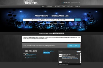 View Portfolio Item: ModernTickets
