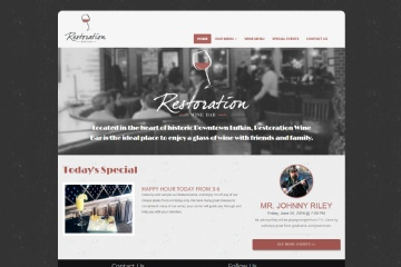 View Portfolio Item: Restoration Wine Bar