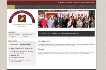 View Portfolio Item: Tyler County Hospital